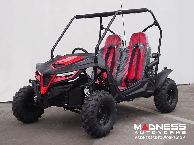 Go Kart - Mid Size - Cheetah 8 - Red
