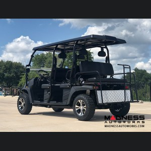 Golf Cart - 6 Seater Limo - Gas Powered - 4x4 - 400cc EFI - Deluxe Model - Carbon Fiber Finish
