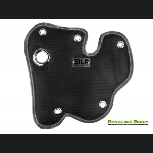 Jeep Renegade 1.4L Thermal Blanket by SILA Concepts - Black Silicone/ Fiberglass