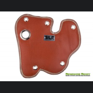 Jeep Renegade 1.4L Thermal Blanket by SILA Concepts - Red Silicone/ Fiberglass Outer Shell