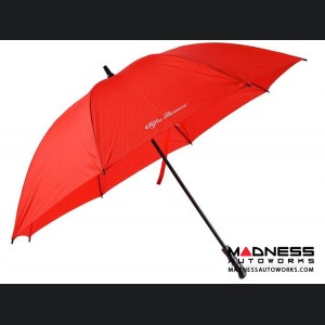 Alfa Romeo Umbrella - Red w/ White Alfa Romeo Logo