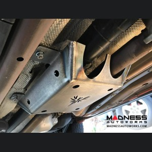 Jeep Compass Skid Plate - Drive Shaft - V2 - Black Powdercoat Finish