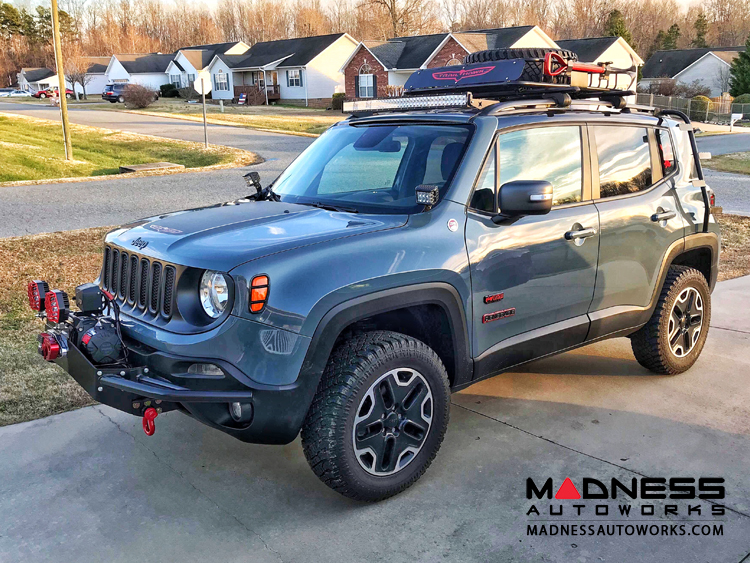 Jeep Leveling Kit >> Jeep Jeep Renegade Front End Leveling Kit 1 2 Madness