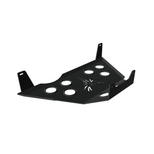 Jeep Compass Skid Plate - Rear Differential - Black Powdercoated Finish