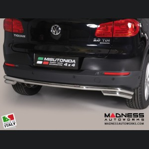 Volkswagen Tiguan Bumper Guard - Rear - Double Bumper Protector by Misutonida