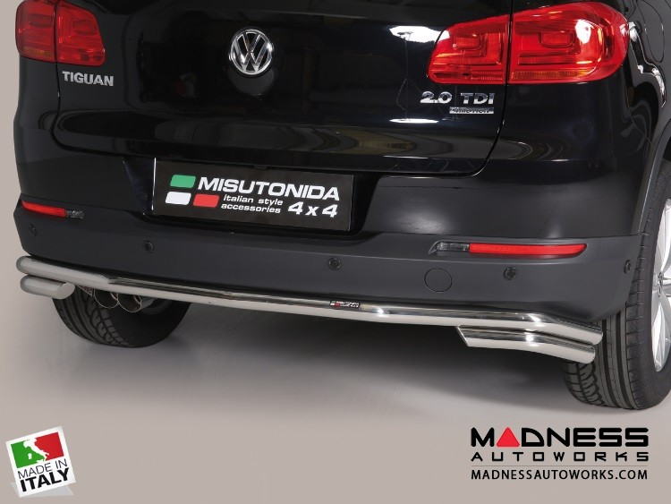Volkswagen Tiguan Bumper Guard - Rear - Double Bumper Protector by Misutonida