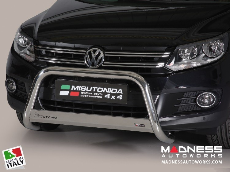 Volkswagen Tiguan Bumper Guard - Front - Medium Bumper Protector by Misutonida