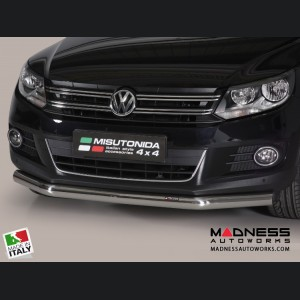 Volkswagen Tiguan Bumper Guard - Front - Slash Bar Bumper Protector by Misutonida
