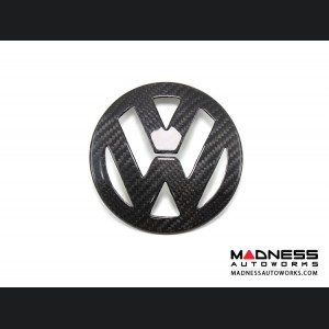 Volkswagen Golf 5 MK5 Emblem Cover - Carbon Fiber