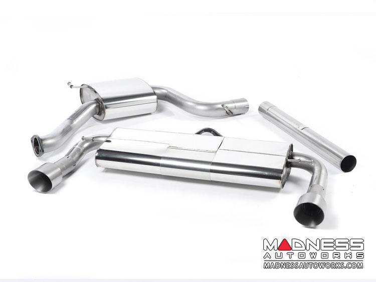 Volkswagen Golf Mk7 GTi Cat-Back Exhaust System by Milltek - Resonated - Titanium Tips