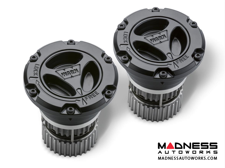 Ford Super Duty Premium Maunal Hub by Warn - 2005+ Chrome