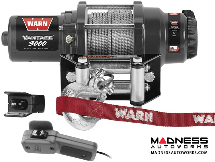 Powersports Vantage 3000 Winches by Warn
