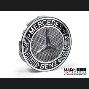 Mercedes Benz Center Wheel Cap - Black - Large (1)