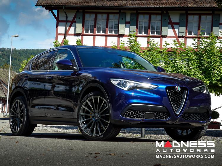 Alfa Romeo Alfa Romeo Stelvio Custom Wheels Devotion Black W