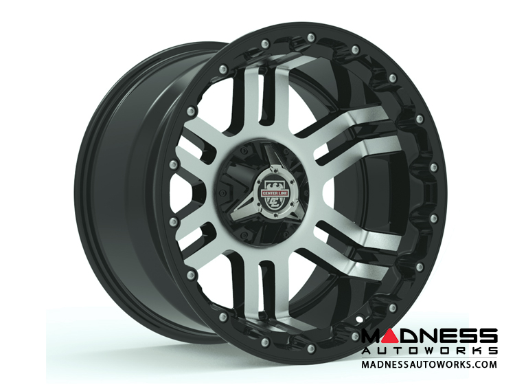 Custom Wheels by Centerline Alloy - LT1MB - Machined Black