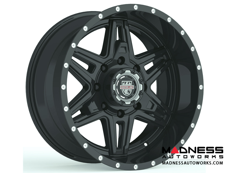 Custom Wheels by Centerline Alloy - LT2B - Gloss Black