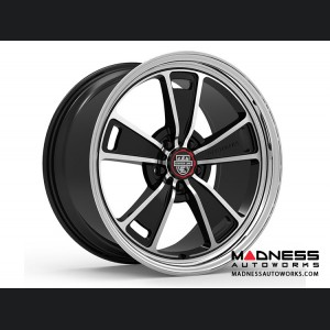 Custom Wheels by Centerline Alloy - MM1MB - Gloss Black w/ Machined Face