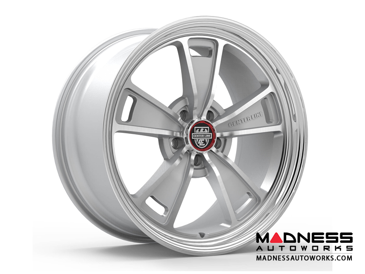 Custom Wheels by Centerline Alloy - MM1MS - Gloss Silver w/ Machined Face