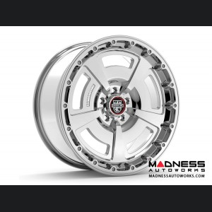 Custom Wheels by Centerline Alloy - MM2MS - Gloss Silver w/ Machined Face