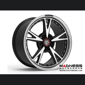 Custom Wheels by Centerline Alloy - MM3MB - Gloss Black w/ Machined Face