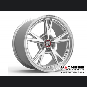 Custom Wheels by Centerline Alloy - MM3MS - Gloss Silver w/ Machined Face