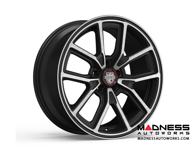 Custom Wheels by Centerline Alloy - MM4MB - Gloss Black w/ Machined Face