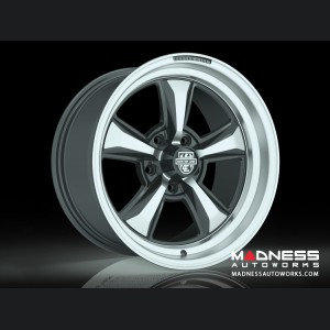 Custom Wheels by Centerline Alloy - MM6MB - Mirror Machined W/ Gloss Black Accents
