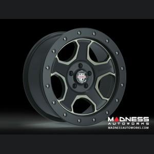 Custom Wheels by Centerline Alloy - RT3BZ -  Satin Black w/ Brown Tint