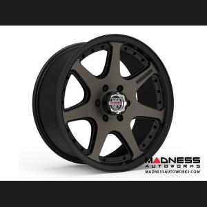 Custom Wheels by Centerline Alloy - RT4BZ - Satin Black w/ Brown Tint