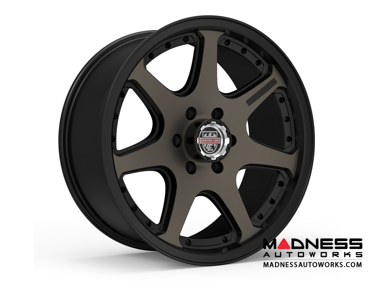 Custom Wheels by Centerline Alloy - RT4BZ - Satin Black w/ Brown Tint