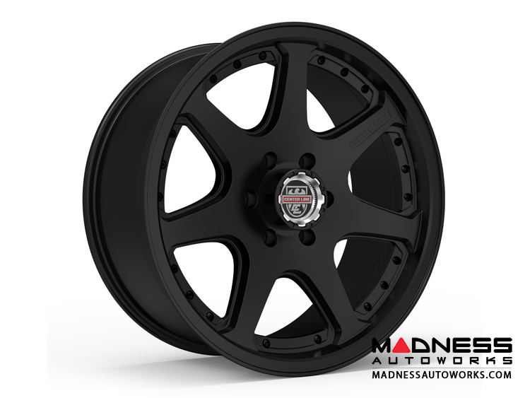 Custom Wheels by Centerline Alloy - RT4X - Satin Black