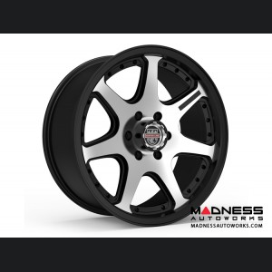 Custom Wheels by Centerline Alloy - RT4MX - Machined Satin Black