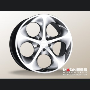 "Jeep Renegade Custom Wheels - Phantom 19x8"" (set of 4) - Hyper Silver/ Hyper Black"