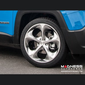 "Jeep Renegade Custom Wheels - Phantom 19x8"" (set of 4) - Hyper Silver/ Hyper Black"