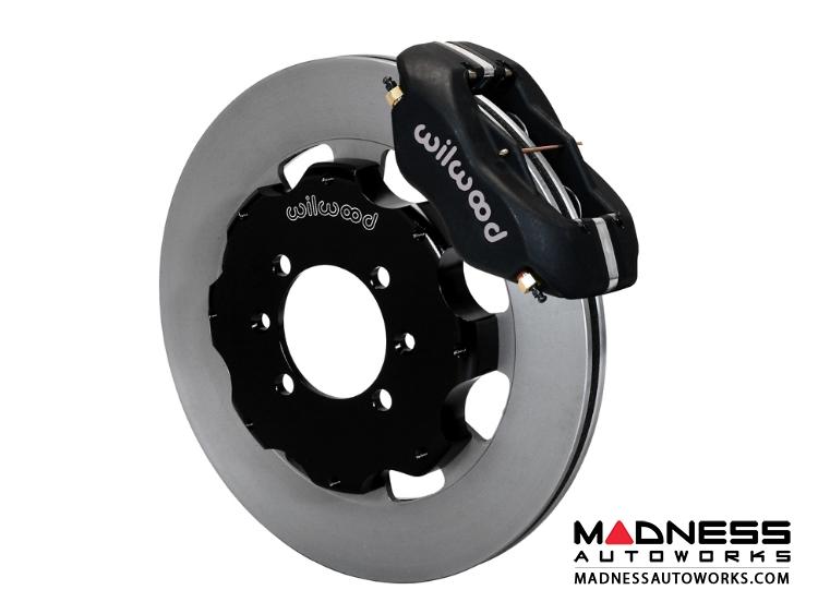 Mazda Miata (2016+) Brake Conversion Kit - Wilwood Dynalite 4 Piston Front  Brake Kit (Black Calipers / Plain Face Rotors)