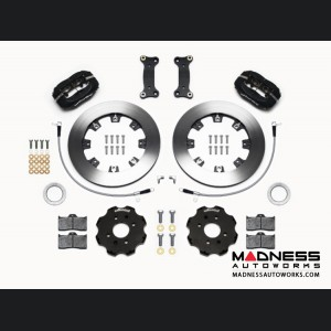 Mazda Miata (2016+) Brake Conversion Kit - Wilwood Dynalite 4 Piston Front Brake Kit (Black Calipers / Plain Face Rotors)