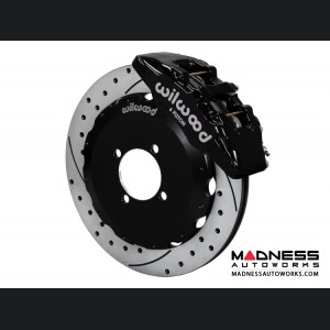 Mazda Miata (2016+) Brake Conversion Kit - Wilwood Dynapro 6 Piston Front Brake Kit (Black Calipers /  SRP Drilled & Slotted Rotors)