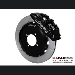 Mazda Miata (2016+) Brake Conversion Kit - Wilwood Dynapro 6 Piston Front Brake Kit (Black Calipers / GT Slotted Rotors)