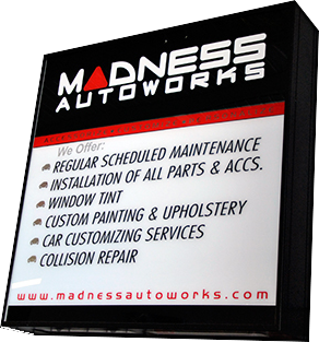 MADNESS Autoworks Services